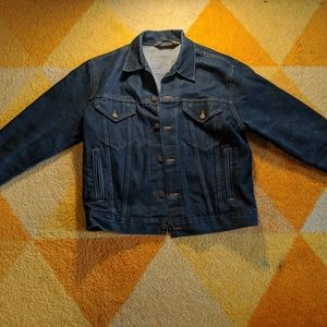 Vintage Big Mac denim jacket
